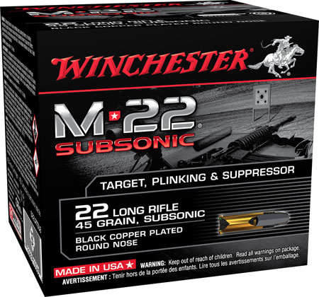Winchester - M-22 Subsonic - .22LR for sale