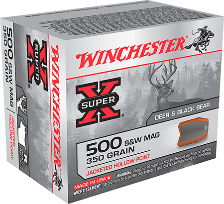 Winchester - Super-X - .500 S&W Mag for sale