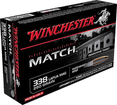 Winchester - Match - 338 Lapua Mag for sale