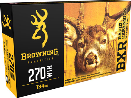 Browning - BXR Rapid Expansion - 270 Winchester for sale