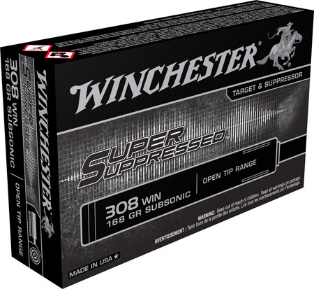 Winchester - Super Suppressed - .308|7.62x51mm for sale