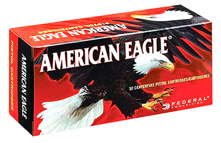 FED AM EAGLE 9MM 115GR FMJ 100/500 - for sale