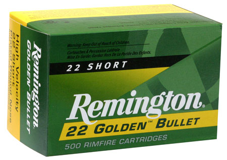 Remington - Golden Bullet - .22 Short for sale