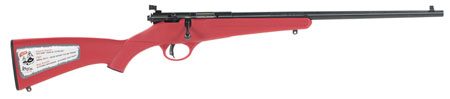 "SAV RASCAL YOUTH 22LR 16"" RED - for sale"