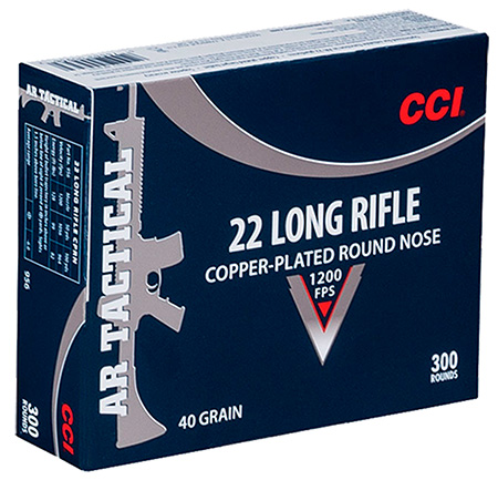 CCI 22LR TACTICAL 40GR CPRN 300/3000 - for sale