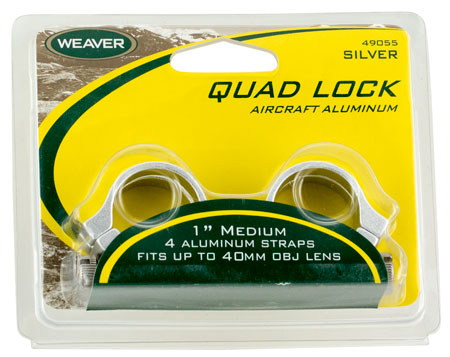 "WEAVER QUAD LOCK RNGS 1"" XHIGH MATTE - for sale"