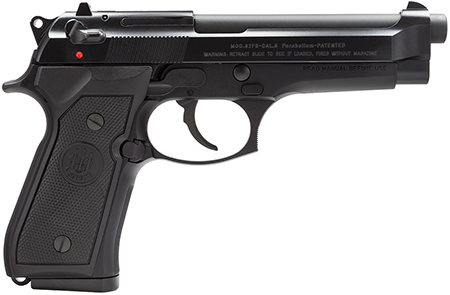 "BERETTA 92FS 9MM 4.9"" BL 2-10RD ITLY - for sale"