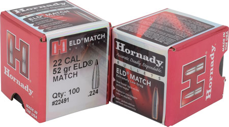 Hornady - ELD Match - 22 Caliber for sale