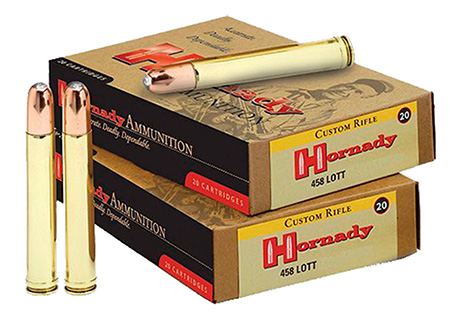 Hornady - Dangerous Game - .458 Lott for sale