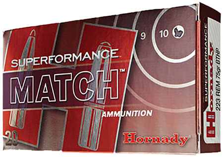 Hornady - Superformance Match - 5.56x45mm NATO for sale