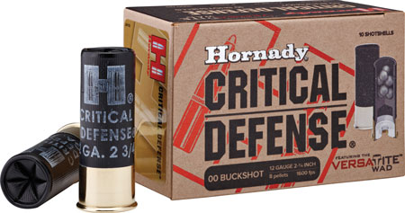"Hornady - Critical Defense - 12 Gauge 2.75"" for sale"