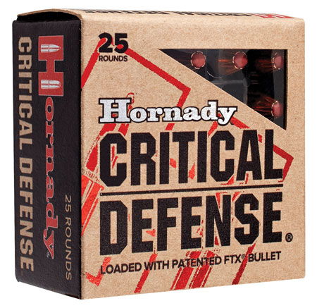 HRNDY 9MM 115GR CRT DFNSE 25/250 - for sale