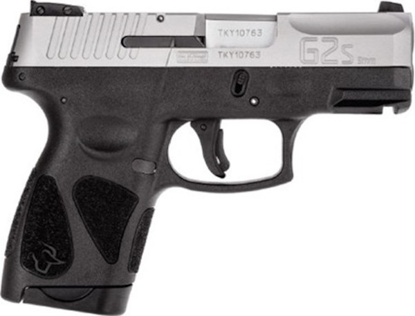 "TAURUS G2S 9MM BLK/SS 3.2"" 2/7RD - for sale"