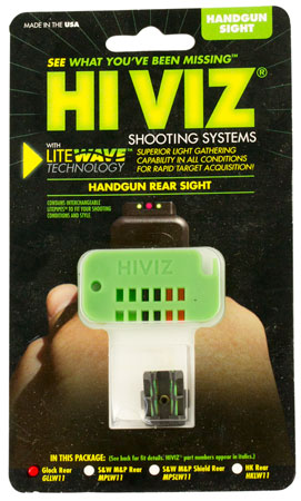 HIVIZ LITEWAVE REAR SGHT FOR GLK 43 - for sale