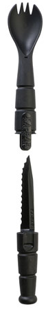 "KBAR TACTICAL SPORK/KNIFE 2.5"" BLK - for sale"