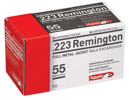 AGUILA 223REM 55GR FMJ 50/1000 - for sale