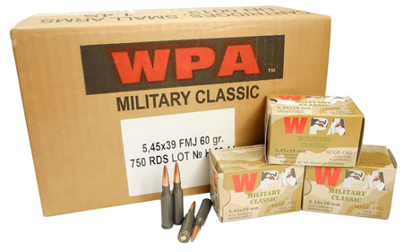 wolf performance ammo - Military Classic - 5.45x39mm for sale