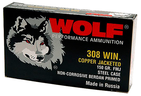 wolf performance ammo - PolyFormance - .308|7.62x51mm for sale