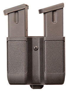 BH DOUBLE MAGAZINE POUCH BLK 9/40/45 - for sale