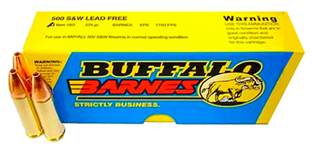 Buffalo Bore - 500 S&W - .500 S&W Mag for sale