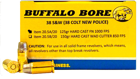 Buffalo Bore - 38 S&W - .38 S&W for sale