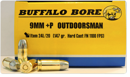 Buffalo Bore - Outdoorsman - 9mm Luger for sale
