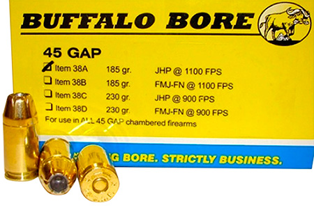 Buffalo Bore - 45 GAP - .45 GAP for sale