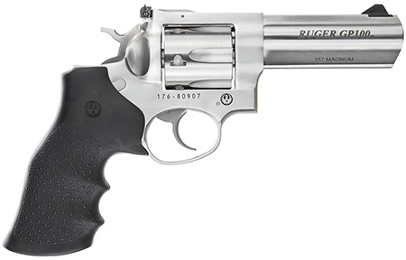 "RUGER GP100 357MAG 4.2"" STN 6RD - for sale"