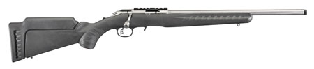 "RUGER AMER RF 22LR 18"" 10RD TB STS - for sale"
