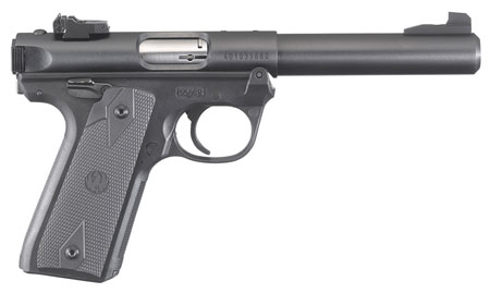 RUGER MRK IV 22/45 22LR 10RD BLK 5.5 - for sale