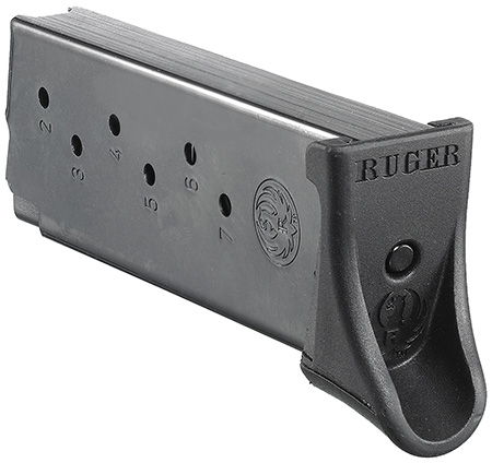 MAG RUGER LC9/EC9S 9MM 7RD BL W/EXT - for sale