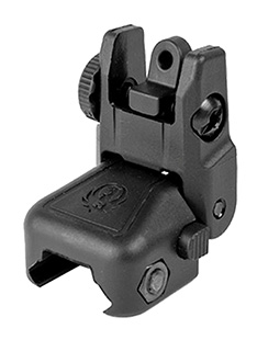 RUGER RAPID DEPLOY REAR SIGHT BLK - for sale