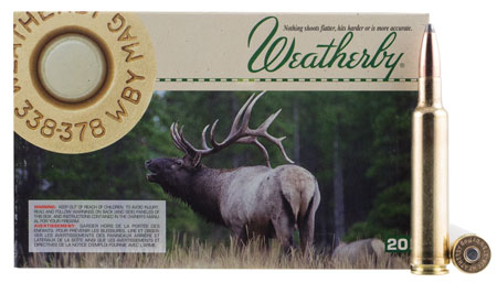 Weatherby - Nosler - 338-378 Weatherby Magnum for sale