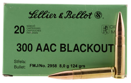 S&B 300BLK 124GR FMJ 20/1000 - for sale