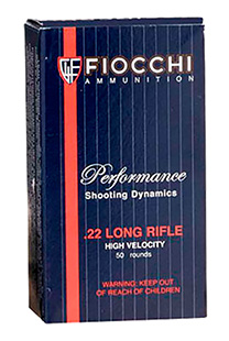 FIOCCHI 22LR 38GR CP HP 50/5000 - for sale