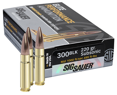 Sig Sauer - Elite Match Grade - .300 AAC Blackout for sale