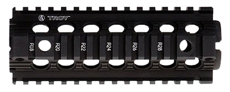 "TROY 7"" MRF DROP IN CARBINE RAIL BLK - for sale"