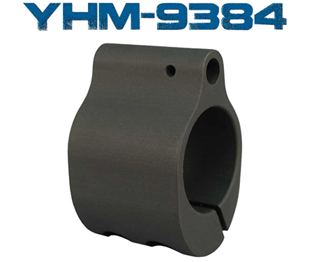 "YHM LOW PRO GAS BLOCK.750"" CLAMP - for sale"