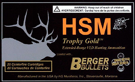 HSM - Trophy Gold - .300 WSM for sale