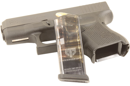 ETS MAG FOR GLK 26 9MM 10RD SMOKE - for sale
