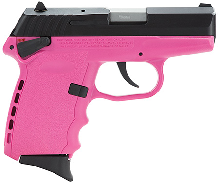 "SCCY CPX-1 9MM 10RD 3.1"" BL/PINK - for sale"