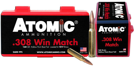 atomic ammunition - Rifle - 308 Win|7.62 NATO for sale