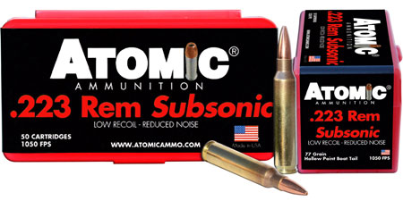 atomic ammunition - Subsonic - .223 Remington for sale