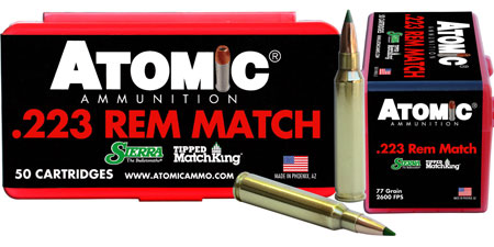 atomic ammunition - Match - .223 Remington for sale