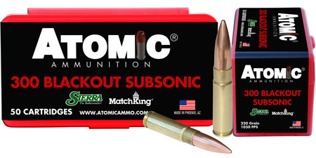 atomic ammunition - Rifle - .300 AAC Blackout for sale