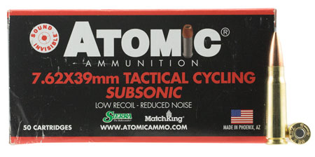 atomic ammunition - Rifle - 7.62x39mm for sale