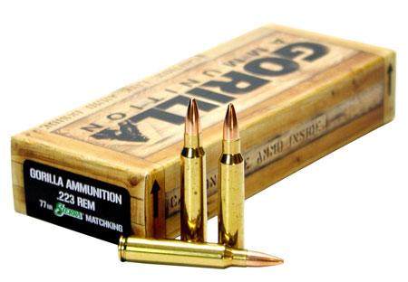 Gorilla Ammunition - Gorilla Match - .223 Remington for sale