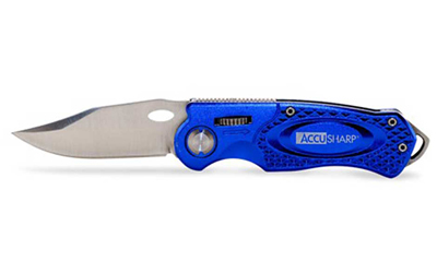 ACCUSHARP SPORT KNIFE BLU - for sale