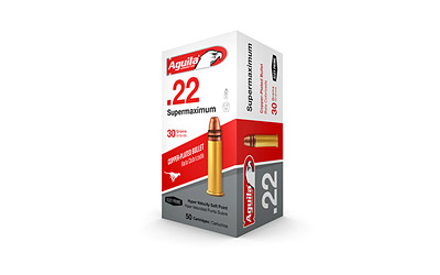 AGUILA 22LR SUPERMAX SP 30GR 50/5000 - for sale