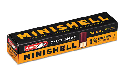 AGUILA MINISHELL 12GA #7.5 20/500 - for sale